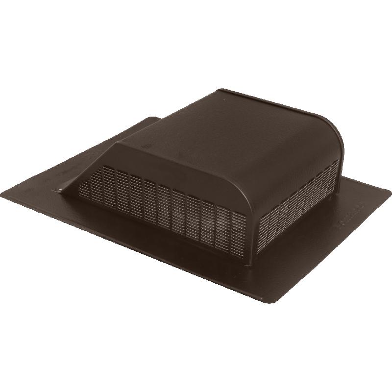 Slant Back Aluminum Roof Vent - Brown