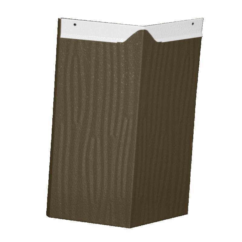 Aluminum Shake Ridge Cap