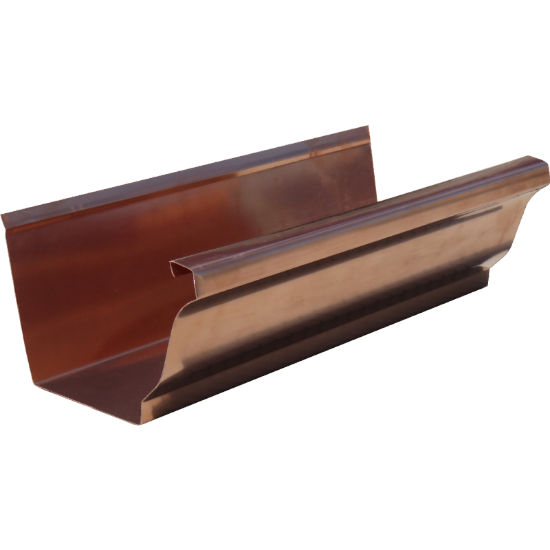 "6"" Eavestrough - Copper"