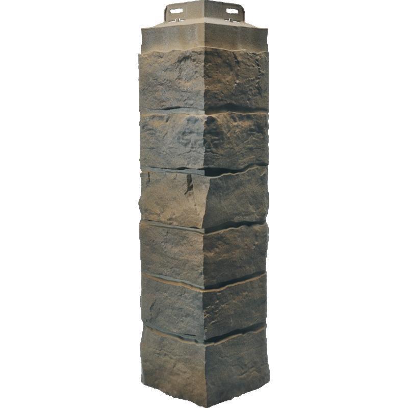 Novik Stacked Stone Corners - Sand Blend