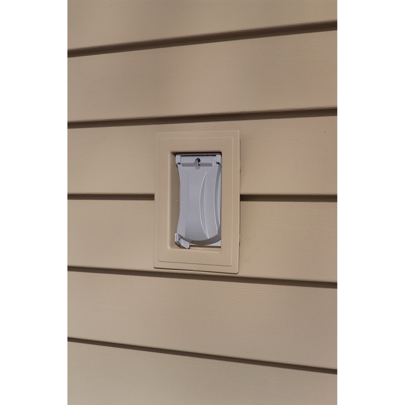 Split Recessed J-Block Mounting Block - Bone