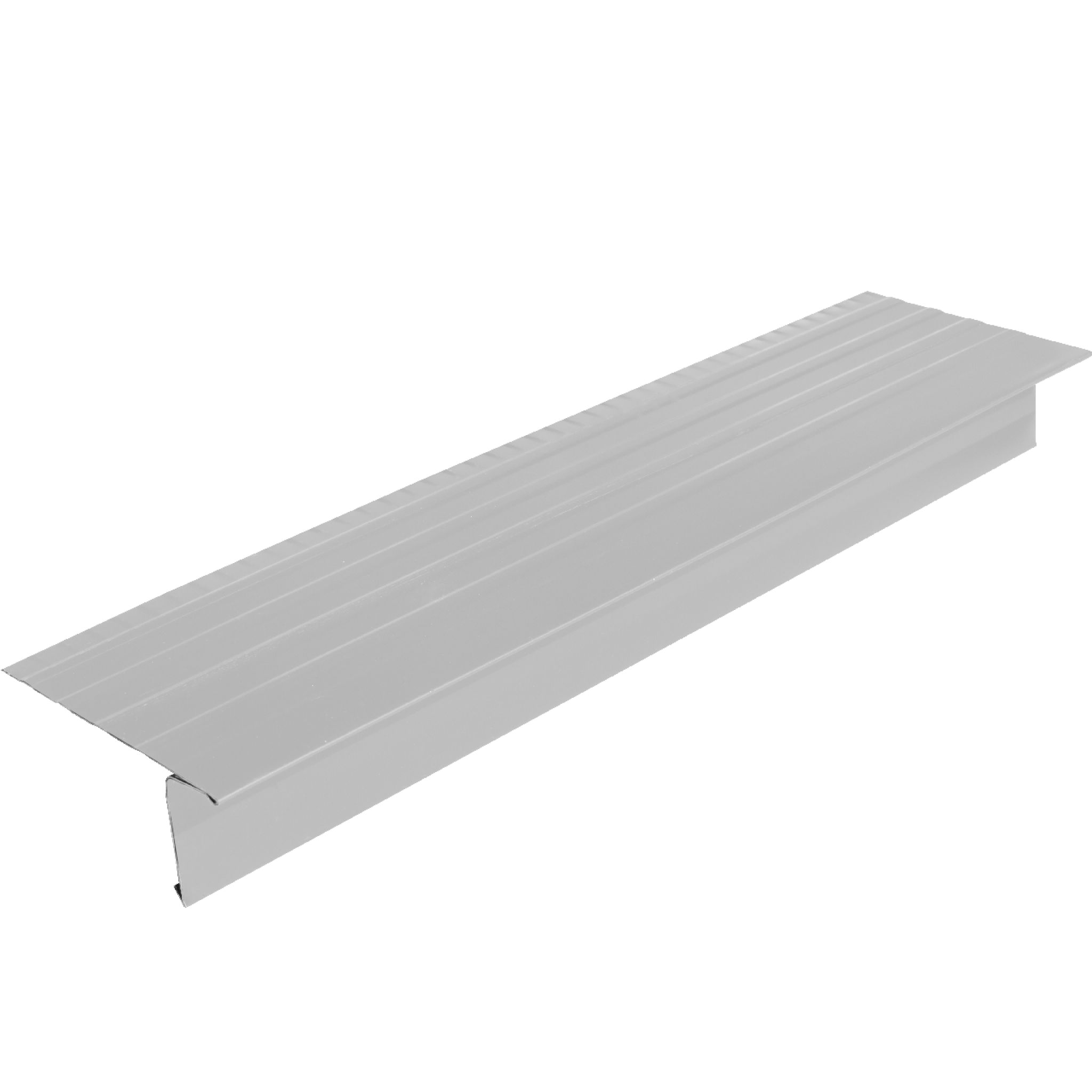 #648 Straight Leg Aluminum Roof Edge