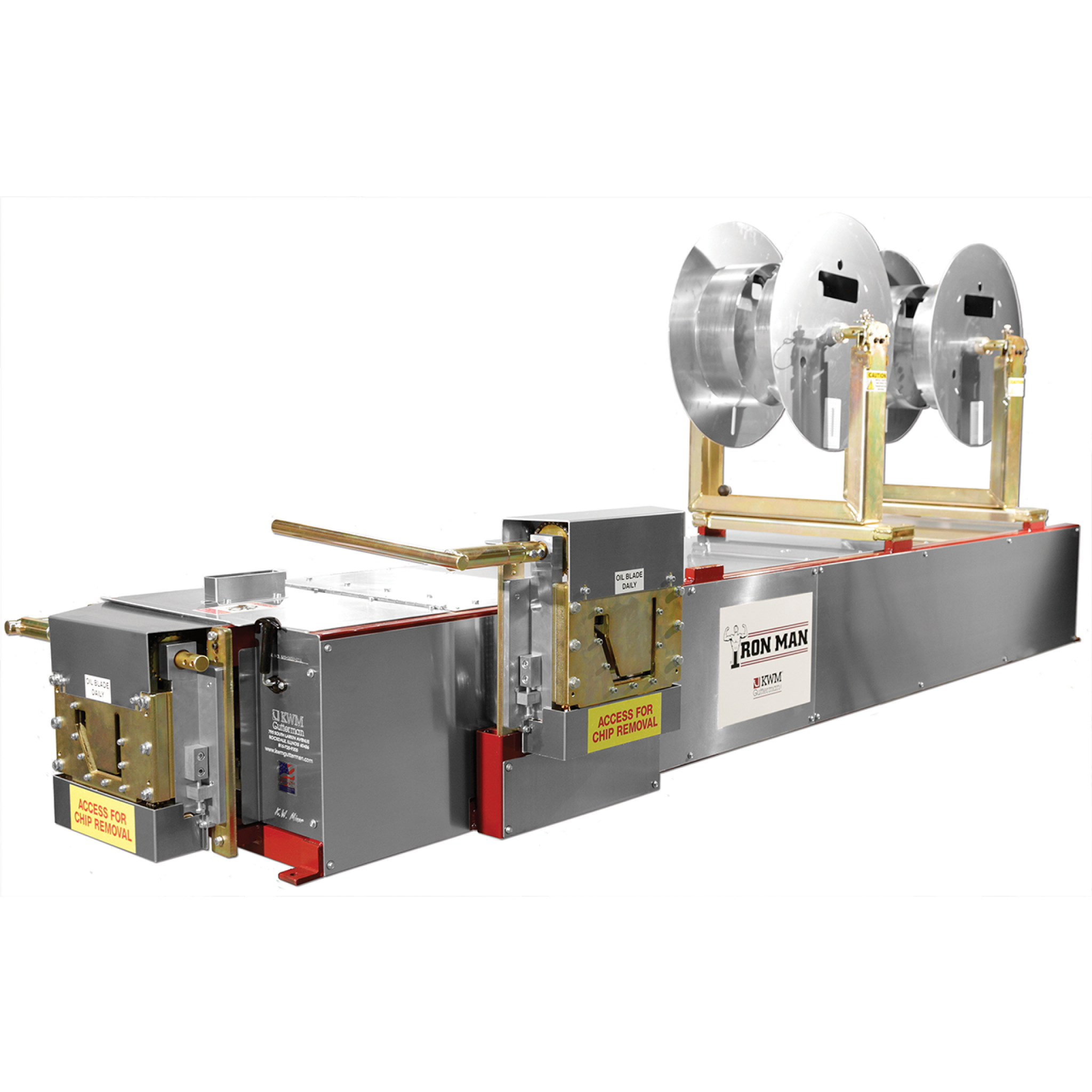 "5""/6"" IronMan Combo Gutter Machine"